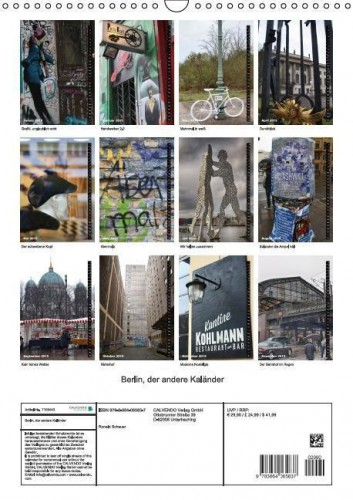 Kalender Berlin hoch back