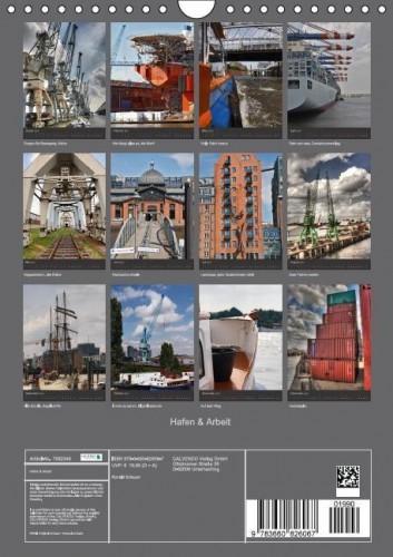 Kalender Hafen Arbeit back