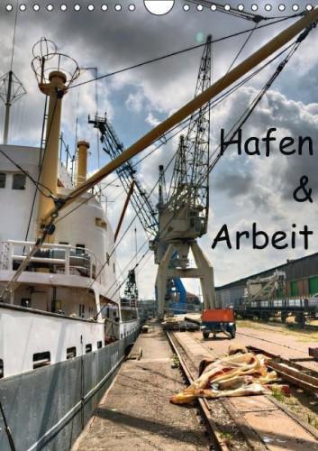 Kalender Hafen Arbeit front
