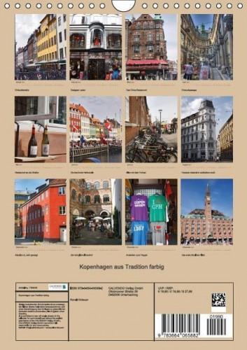 Kalender Kopenhagen hoch back