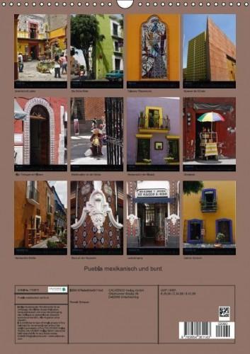 Kalender Puebla hoch back