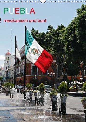 Kalender Puebla hoch front